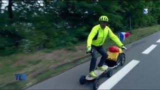 Un tour de France en skate électrique...en attendant le tour du monde !
