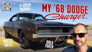 How I came to buy this classic 1968 Dodge Charger big block 4spd muscle car project // Jonny Smith