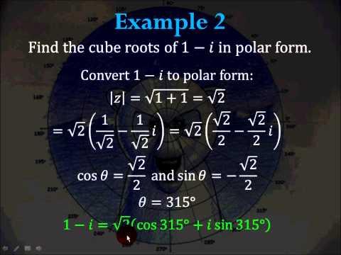 14-5 de Moivre's Theorem
