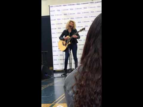 Tori Kelly private concert at SRHS(1)