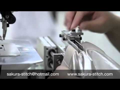 How to sew curtain pinch pleat automatically