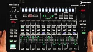 Demo Presentación de Roland Aira MX1 Mix Performer en MicroFusa Barcelona