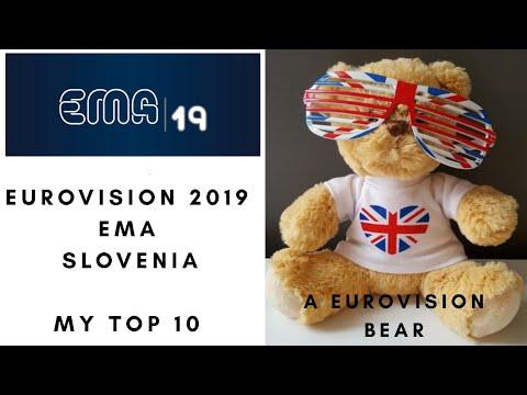 Download Eurovision 2019 - EMA - Slovenia - My Top Ten