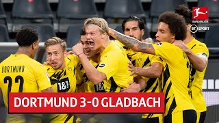 Borussia Dortmund vs. Gladbach (3-0) | Bundesliga highlights