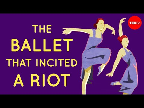 Video image: The ballet that incited a riot - Iseult Gillespie