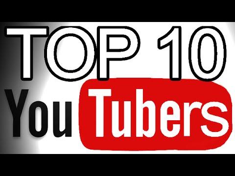 Resultado de imagem para Top 10 Youtubers