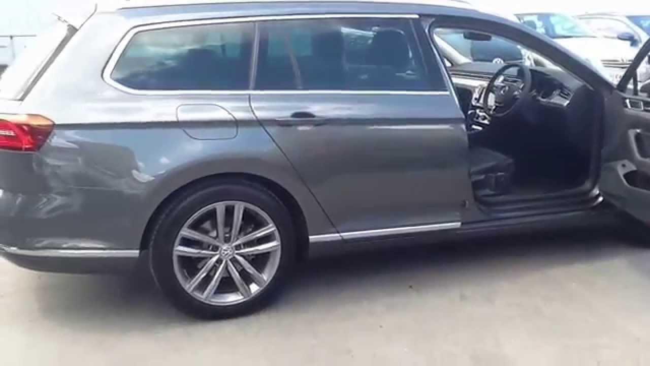 Vw Lookers >> VW Walton - Volkswagen New Passat Estate GT 2.0 TDI - YouTube