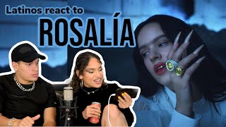 Latinos react to ROSALIA - A PALE 🤯🔥👀| reaction video FEATURE FRIDAY ✌