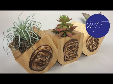 Making a Planter | Michael Tylers FREE Project of the Month | Vectric