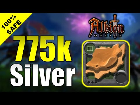 775K SILVER PROFIT In 35 MINUTES With T3 LEATHER | How To Make More Silver Albion Online 2020