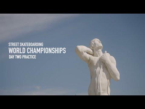Street Skateboarding World Championships 2021 - Rome - Men's Practice Day 2