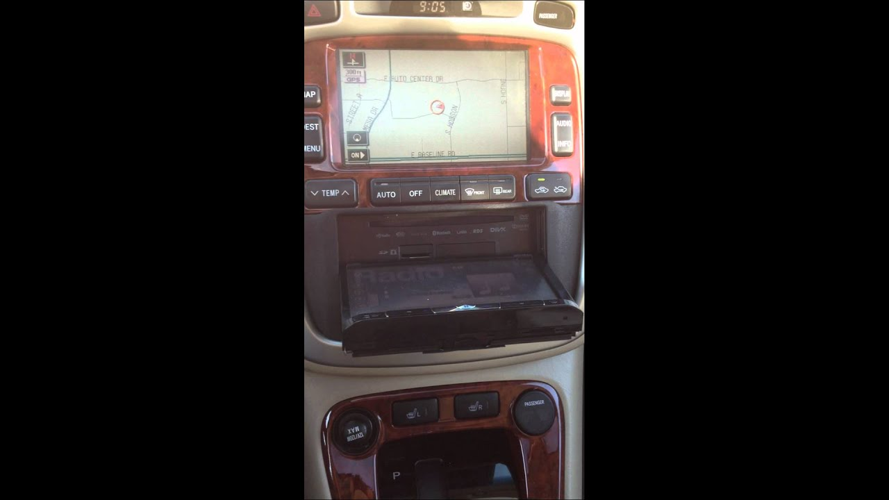 2006 Toyota Highlander Hybrid - Pioneer Double Din Install