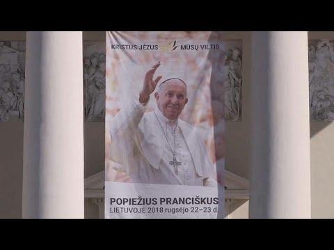 Papa Francisco em digressão pelo Báltico