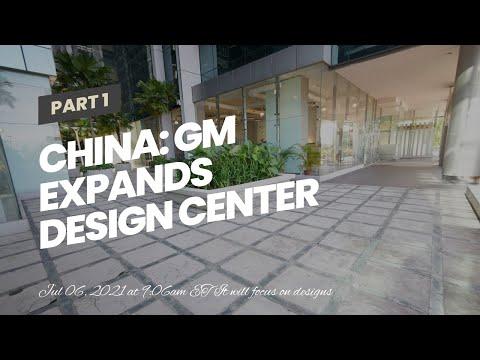 China: GM Expands Design Center To Accelerate EV Development