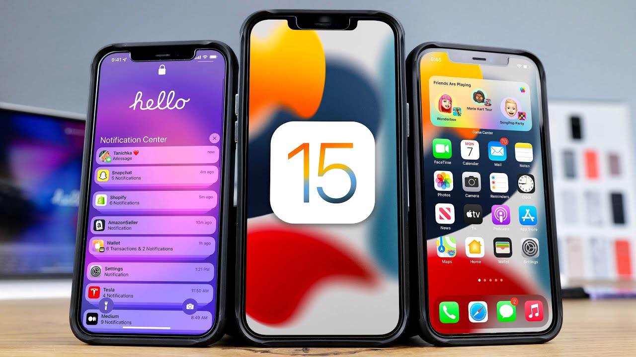 Download Top iOS 15 Features! What's New Review