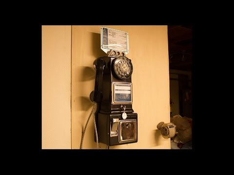 Automatic Electric Three Slot Coin Telephone