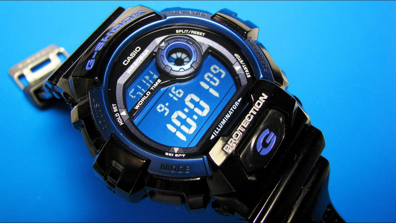 super popular 325aa 8489e Casio G-Shock G8900A-1 Watch with Blue Dial