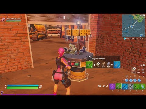 How To Get A Legendary Weapon EVERY GAME In FORTNITE CHAPTER 2! How To Upgrade Weapons In Fortnite!