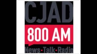 Montreal, Canada, Radio Station 800 CJAD Interview, 5 7 2015