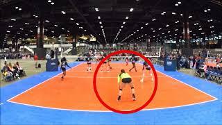 Jenna Swinkowski 2018 Club Volleyball Mid Season Team-D  Highlights