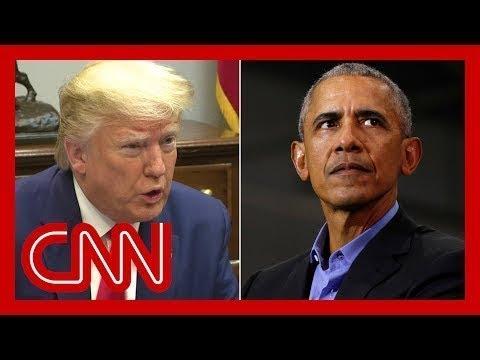Trump's false claim blames Obama admin as coronavirus spreads