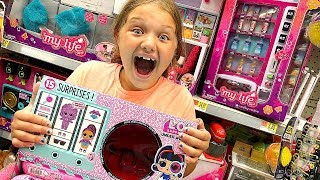 Toy Shopping at Walmart For LOL Surprise Under Wraps LOL Dolls, My Life Doll Toys Accessories