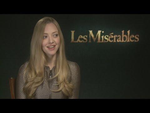 Les Miserables: Amanda Seyfried Talks Eddie Redmayne, Singing And Rapping
