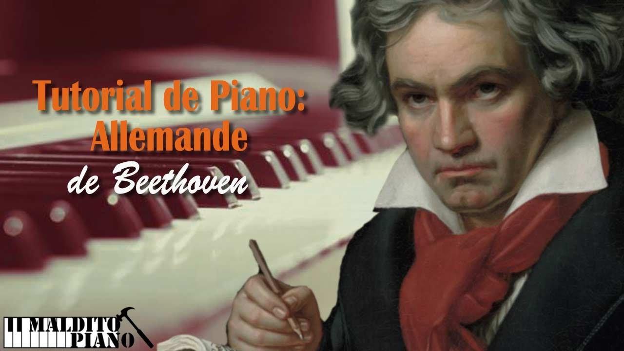 Aprende a tocar tu primer Beethoven al piano. Incluye partitura gratis.