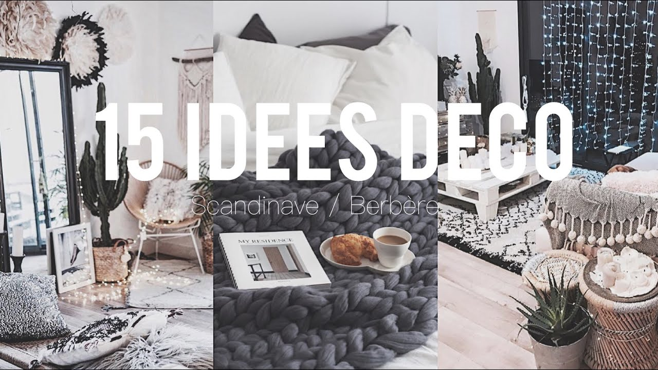 15 id es d co style pinterest scandinave berb re youtube. Black Bedroom Furniture Sets. Home Design Ideas