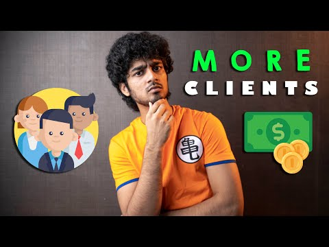 How Do I Get More Clients | The Indian Filmmaker