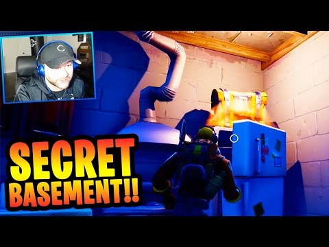 "Snobby Shores ""SECRET FALLOUT SHELTER"" in FORTNITE!! (NEW CITY CHEST SPOTS)"