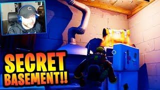 "Snobby Shores ""SECRET FALLOUT SHELTER"" in FORTNITE!! (NEW CITY CHEST SPOTS) 