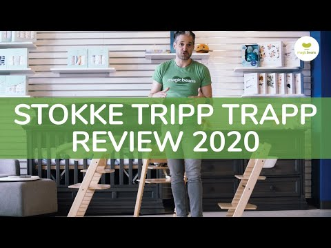 Stokke Tripp Trapp High Chair | Stokke Tripp Trapp Full Review | Magic Beans | Best High Chairs