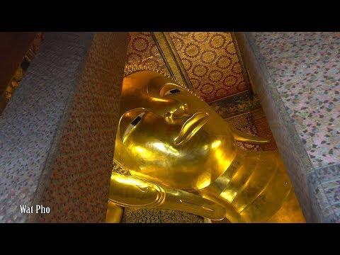 Wat Arun, Wat Pho, Wat Phra Kaew. Bangkok Signature Temple : Part 1 - 4K