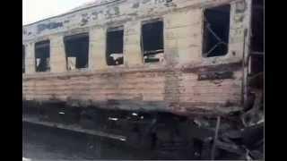 Украинские войска разбомбили пассажирский поезд в Донецке