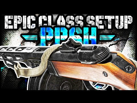 PPSH EPIC CLASS SETUP BREAKDOWN! (Call of Duty WW2 Multiplayer Gameplay)