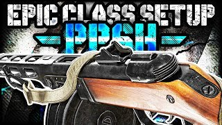 "MY FAVORITE ""PPSH"" EPIC CLASS SETUP! (Call of Duty WW2 Multiplayer Gameplay)"