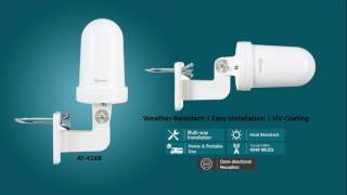 AT 416B Antop Outdoor and Indoor HDTV Antenna UFO