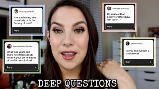 SOFT GLAM MAKEUP + Q&A... More Kids? More Cats? Romance? Beauty Creators?