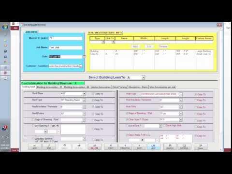 Erector Pro: Estimation Software for Steel & Metal erectors or builders