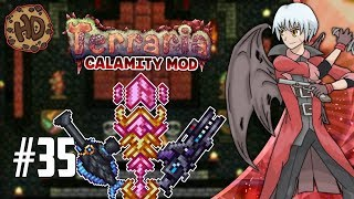 FABSTAFF, MEGAFLEET & HALIBUT CANNON! Terraria Calamity Let's Play   1.3.5 Death Mode FINALE
