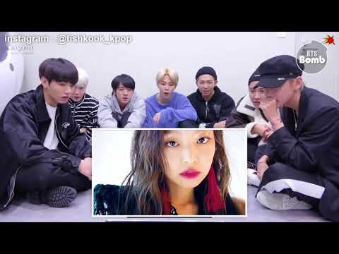 BTS REACTION TO BLACKPINK - OMONA