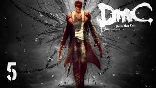 Прохождение DMC: Devil May Cry - Миссия 5 — Вирилити: Зал смешивания
