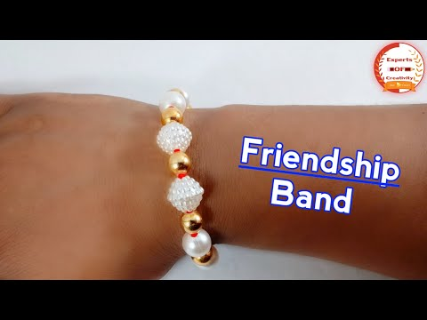 How To Make Friendship Band at Home   DIY Friendship Bracelet   Easy DIY Friendship Band 2019