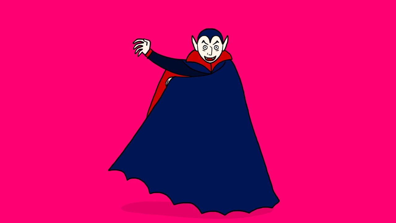 Comment dessiner un vampire youtube - Dessins de vampires ...