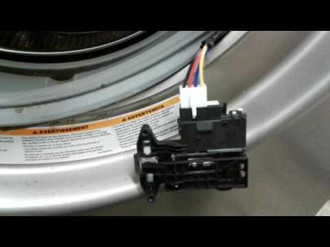 LG Washer DE (Door Error) Code Fix