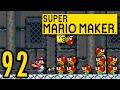 Let's play Super Mario Maker German Part 92 - Battle Castle