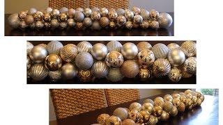 ♕Christmas DIY Ornament Garland🎄