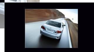 Видео обзор седана Тойота Королла, Toyota Corolla.