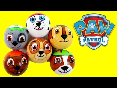 Thumbnail: Baby Learn Colors PAW PATROL Disney Baby Pop Up Toys! Finger Family, Wooden Toy Balls Colours Kids